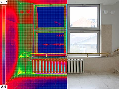 thermal split for inspection